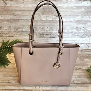 Michael Kors Walsh Fawn Leather Tote